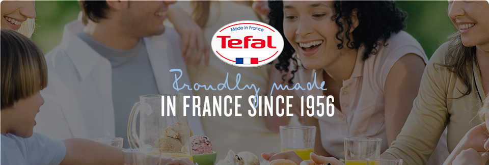 Proudly made in France since 1956